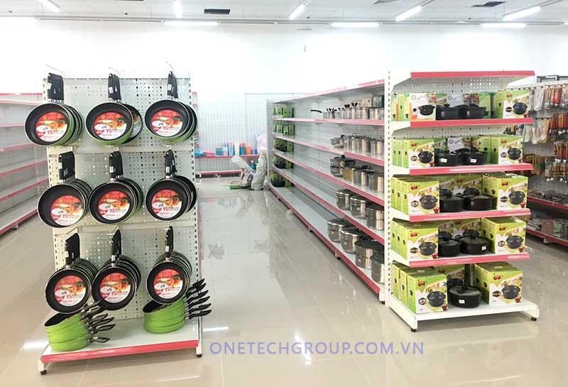 Triển khai lắp đặt thiết bị siêu thị