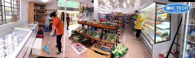 tư vấn và lắp đặt giá kệ siêu thị