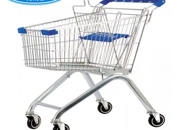 Xe đẩy siêu thị 125L