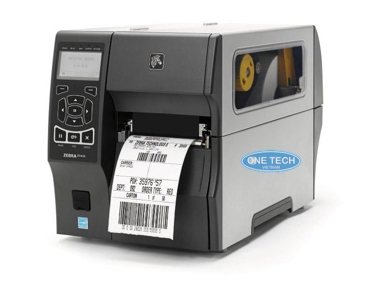 Máy in mã vạch Zebra ZT410