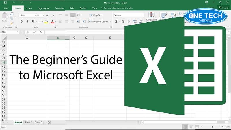 Excel là ứng dụng rất phổ biến trên toàn thế giới