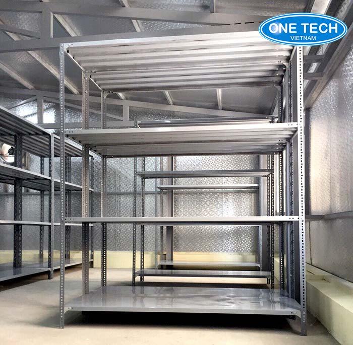 Giá sắt v lỗ đa năng - giải pháp tuyệt vời trong kho chứa hàng