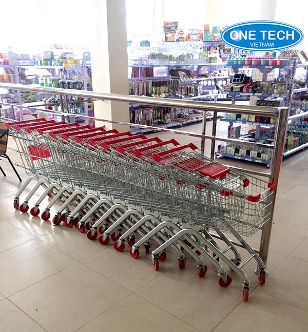 xe đẩy siêu thị tại hà nội