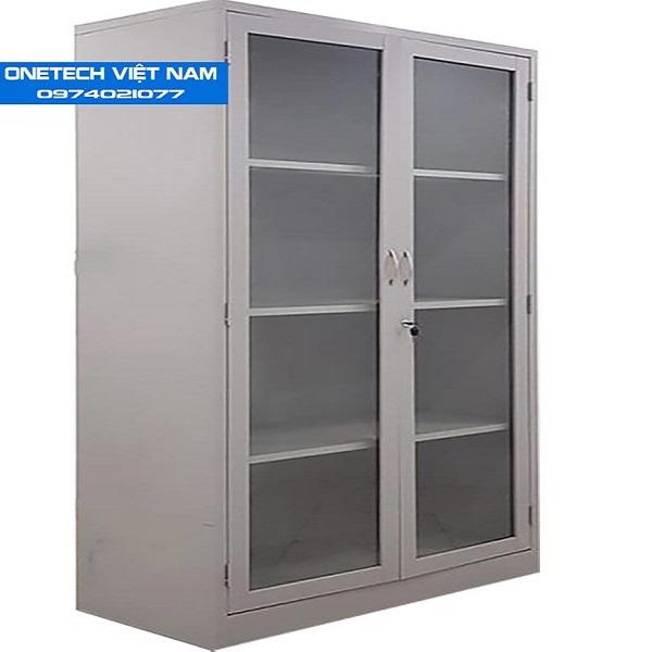 Tủ kính locker thanh lý có 2 cánh