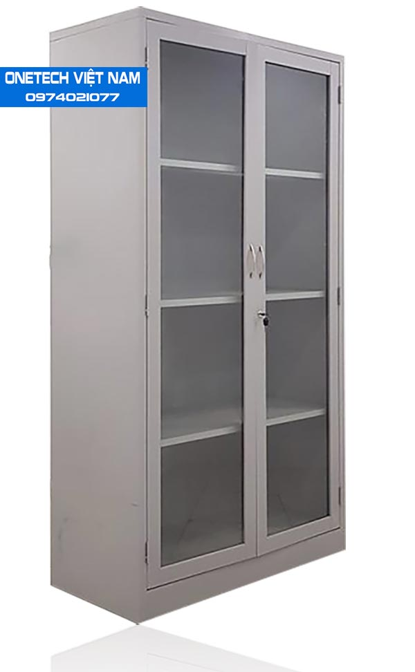 Tủ locker 2 cánh kính