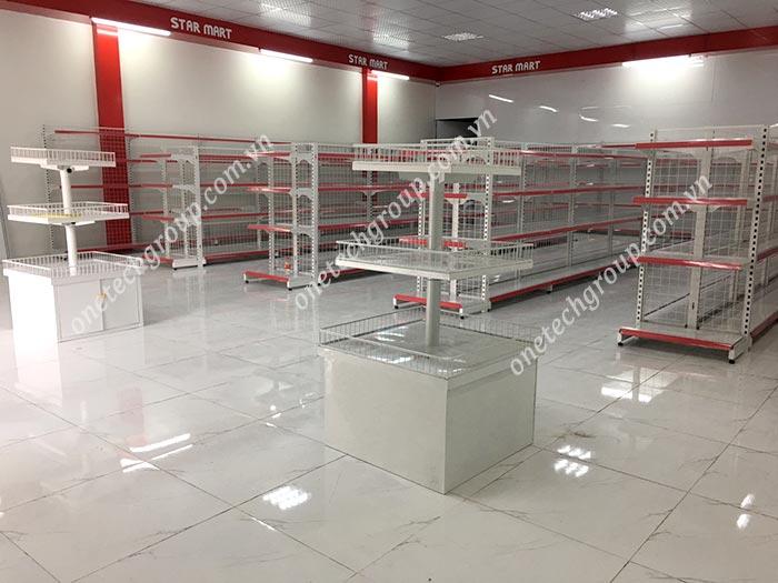 Giá kệ siêu thị tại Bắc Ninh , Bắc Giang , Hải Dương , Hải Phòng