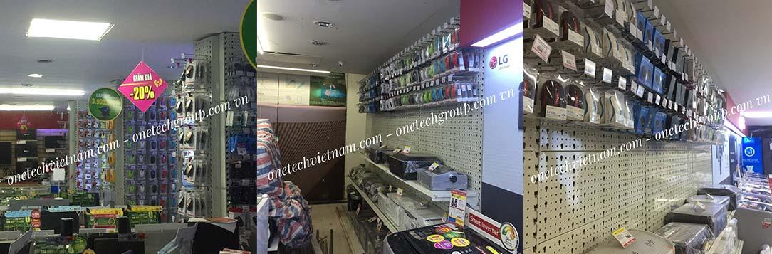 kệ bày hàng siêu thị OneTech Việt Nam