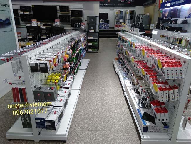 kệ siêu thị điện máy