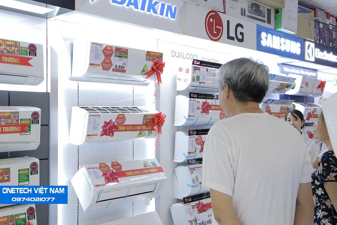 Kệ siêu thị điện máy pico