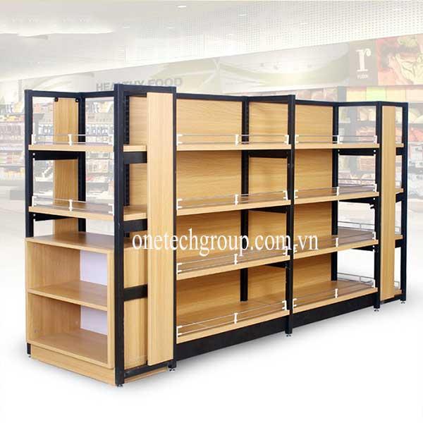 kệ trưng bày sản phẩm gỗ
