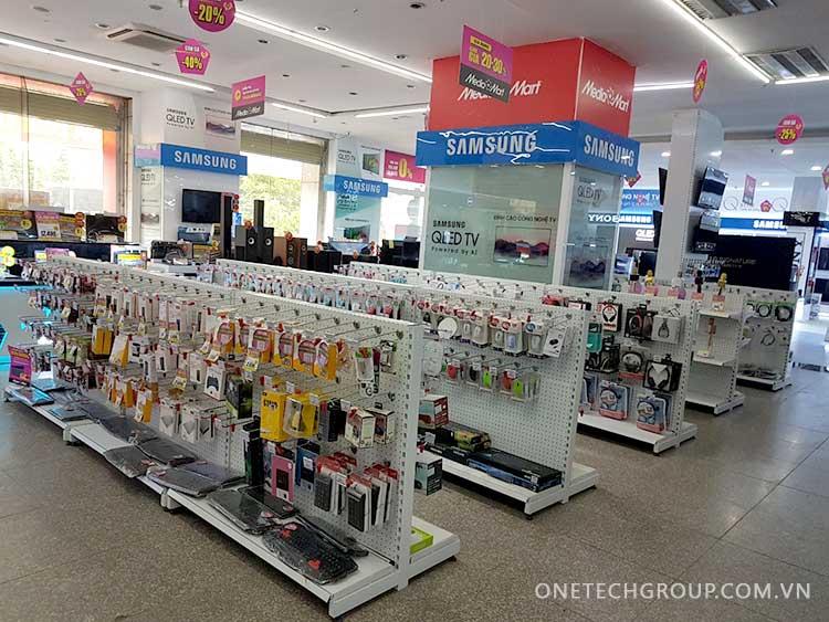 Mua kệ siêu thị giá rẻ tphcm