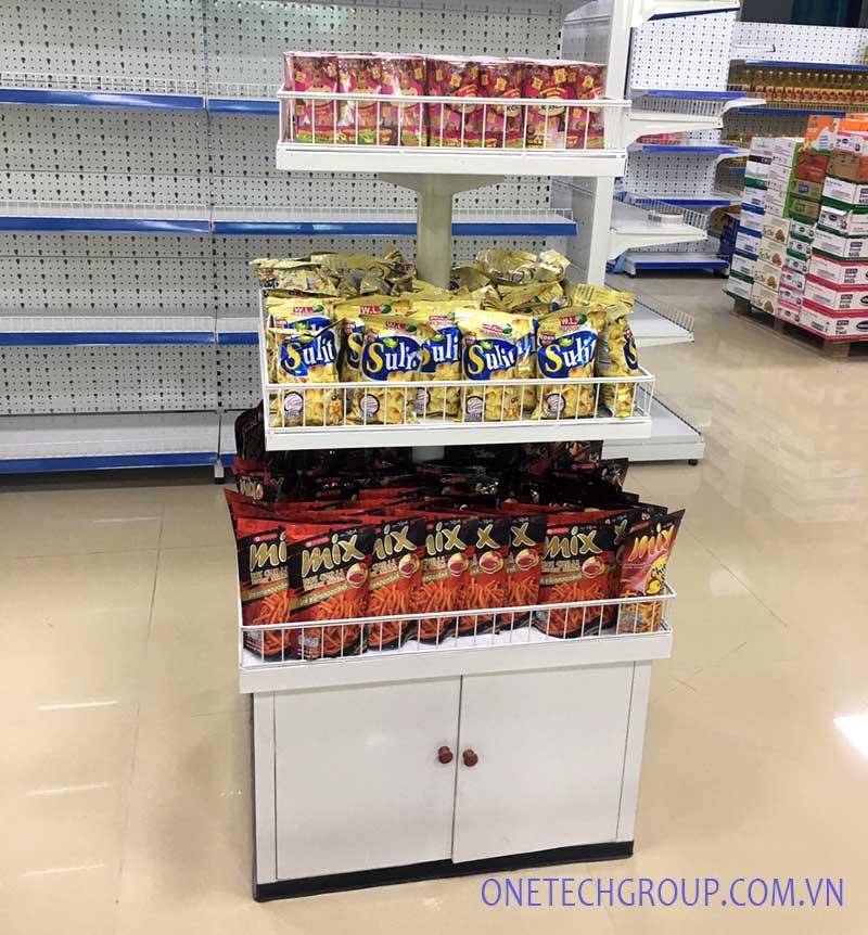 kệ vuông siêu thị