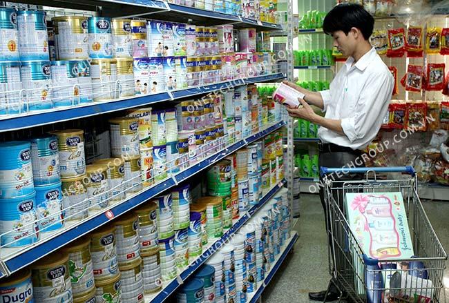 Mở đại lý - cửa hàng sữa cần bao nhiêu vốn