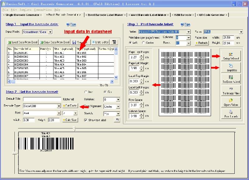 Phần mềm tạo barcode online miễn phí