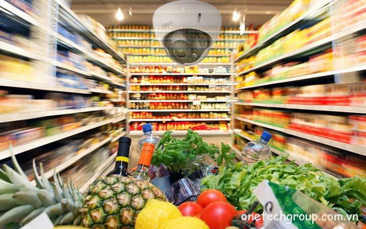 Camera an ninh siêu thị