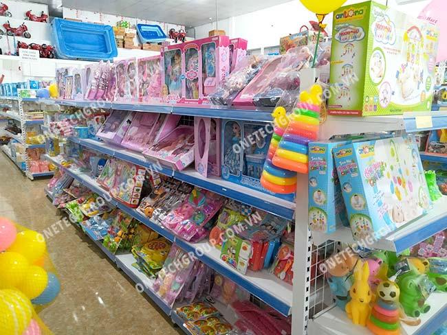 Góc đồ chơi cửa hàng tạp hóa