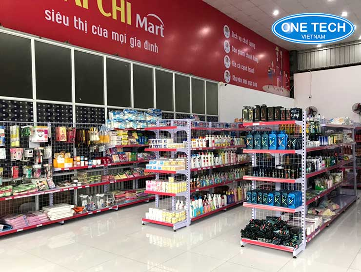 Kệ siêu thị tại Đồng Tháp