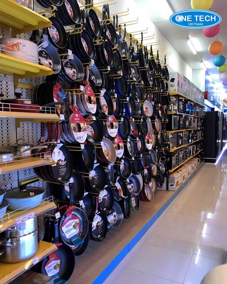 Kệ bày hàng siêu thị tại Đồng Tháp