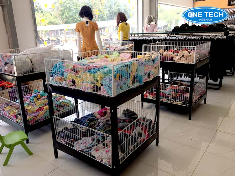 Kệ bán hàng siêu thị tại Vũng Tàu