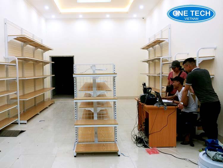 Kệ gỗ siêu thị tại Vũng Tàu
