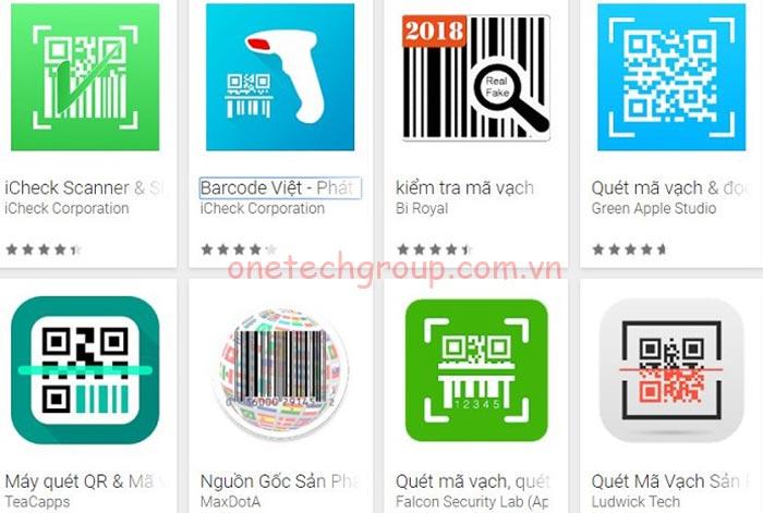 Phần mềm check mã vạch mobile