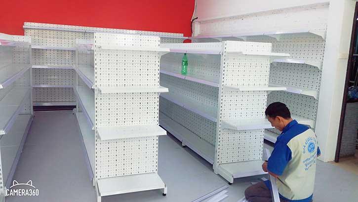Kệ siêu thị tại Cần Thơ đẹp, rẻ, bền