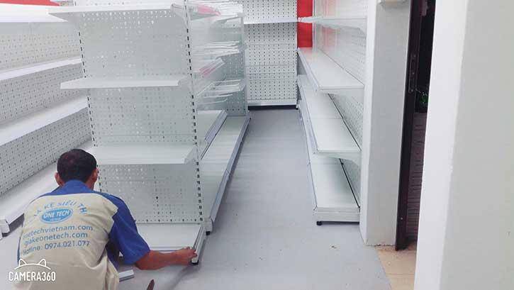 Giá kệ siêu thị tại cần thơ