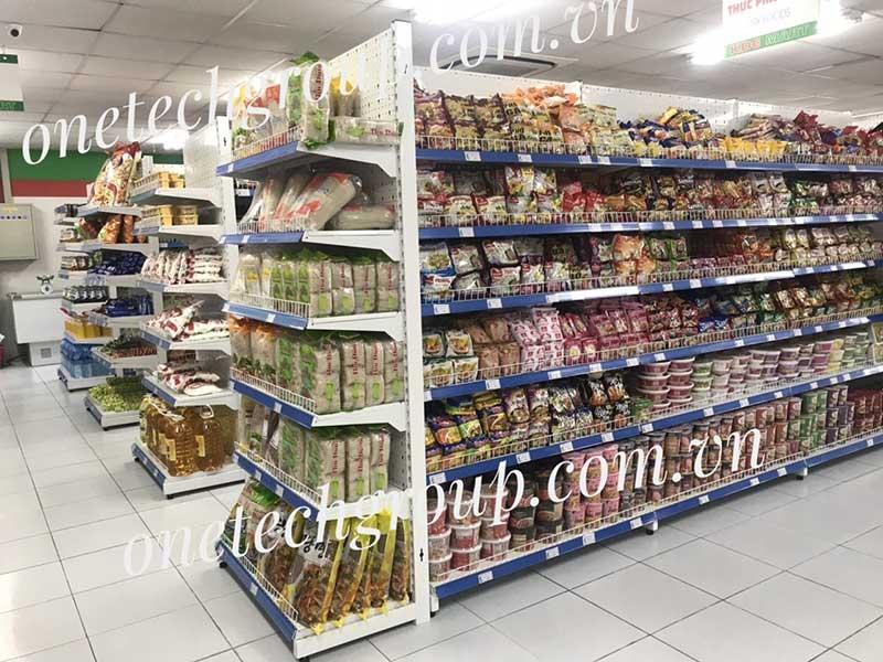 Giá kệ bày hàng siêu thị