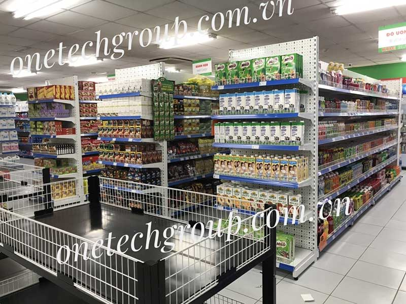 Kệ bán hàng tạp hóa tại Thái Bình