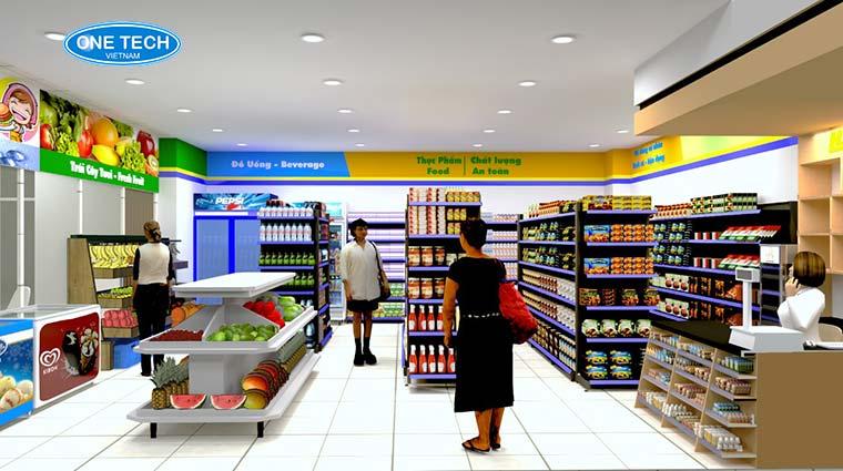 Tiêu chuẩn thiết kế trung tâm thương mại, siêu thị