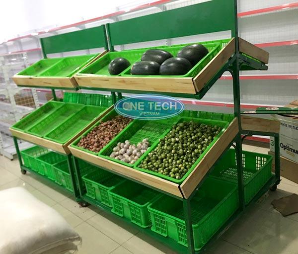 Giá kệ bày thực phẩm rau củ quả