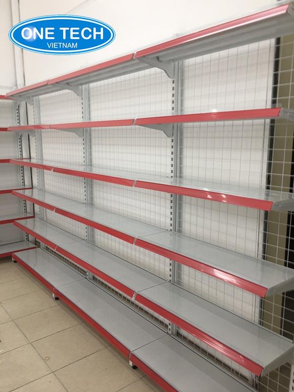 Kệ đơn áp tường siêu thị