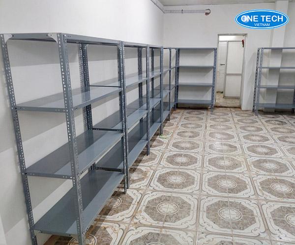Kệ sắt v lỗ đa năng lưu trữ hàng hoặc bày hàng tạp hóa