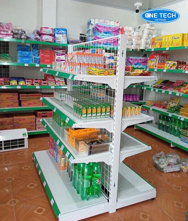 Kệ trưng bày hàng siêu thị, cửa hàng