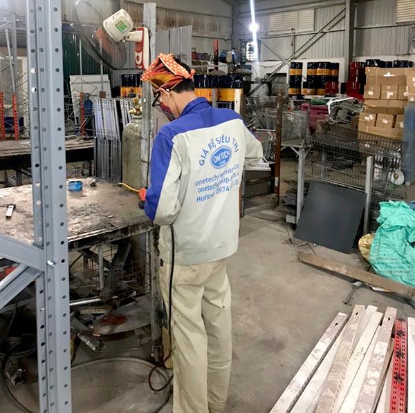 Nhà máy sản xuất giá kệ Onetech tại Đắk Lắk, Buôn Ma Thuột