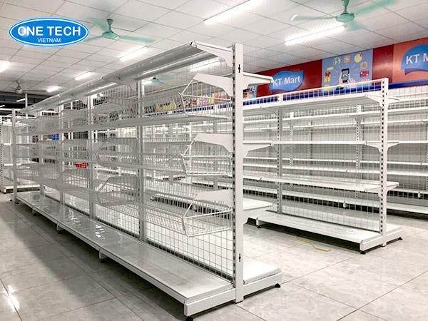 Onetech địa chỉ bán kệ siêu thị chất lượng cao, giá rẻ tại Nha Trang
