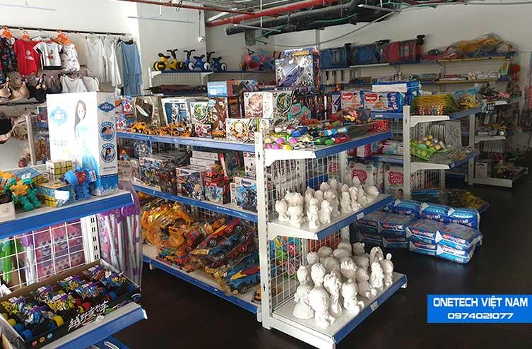 Kệ trưng bày hàng hóa , sản phẩm trong siêu thị