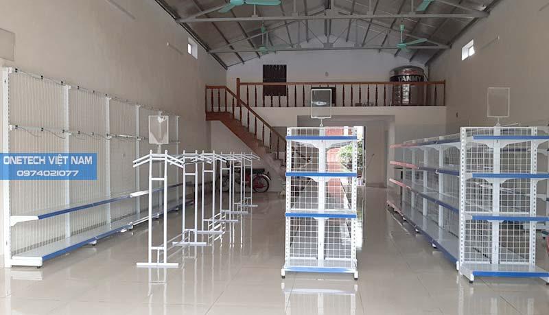 Onetech lắp đặt giá kệ siêu thị tại Biên Hòa, Đồng Nai