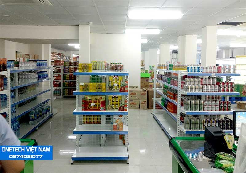 Hình ảnh Onetech đã lắp đặt tại một siêu thị ở Đà Nẵng