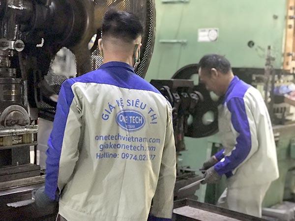 Nhà máy sản xuất giá kệ Onetech tại Biên Hòa, Đồng Nai