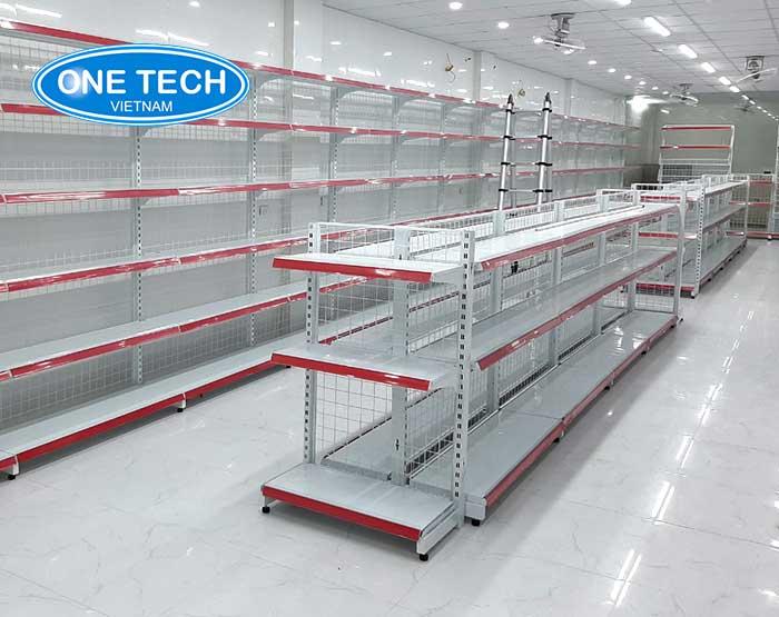 Onetech sản xuất và phân phối kệ siêu thị tại Hải Phòng