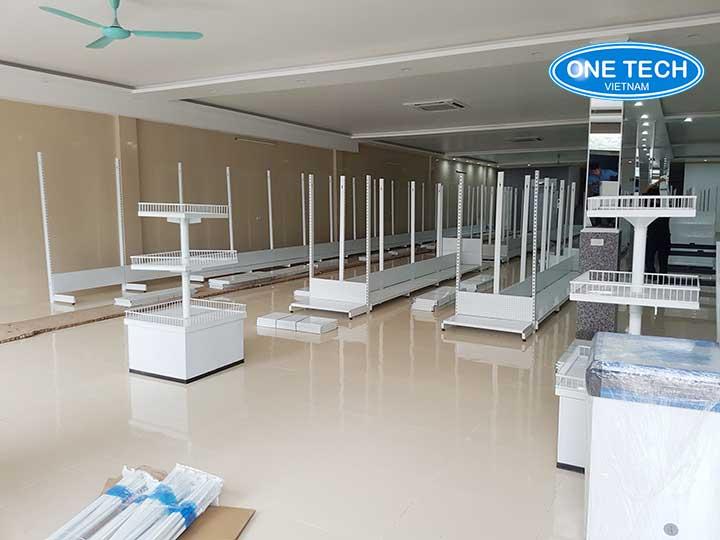 Lắp đặt kệ siêu thị tại Quảng Ninh