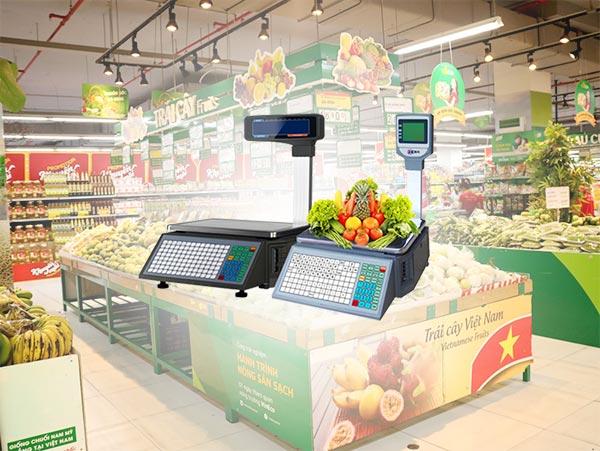 Cân siêu thị - sản phẩm không thể thiếu trong siêu thị