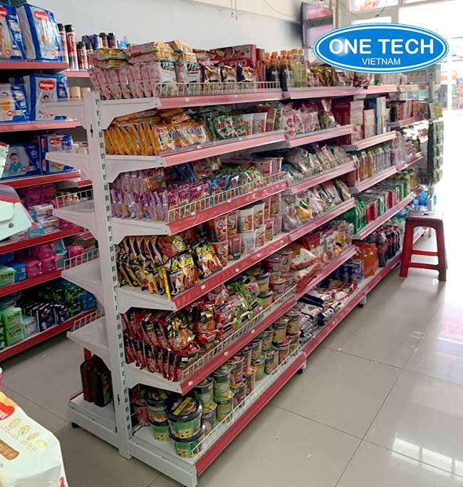Kệ bán hàng tạp hóa - phân phối tại Onetech
