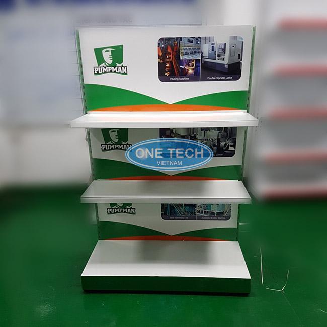 Mẫu kệ quảng cáo được Onetech phân phối tại Bình Phước