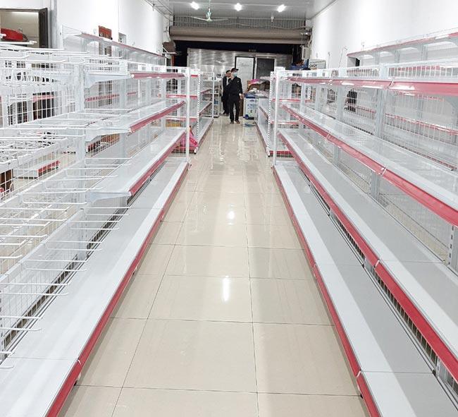 Sản phẩm giá kệ siêu thị trưng bày sản phẩm