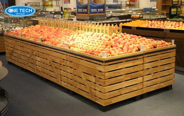 Mẫu kệ trưng bày hoa quả - trái cây đẹp mắt