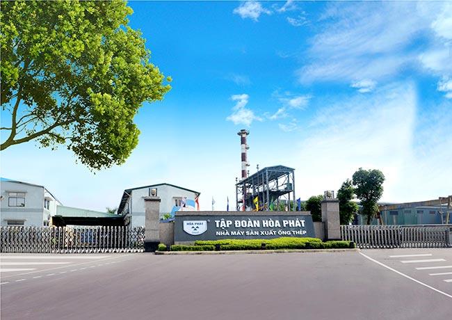 Nhà máy sản xuất Hòa Phát
