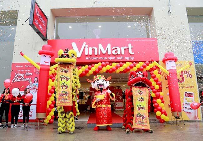 Mở siêu thị Vinmart