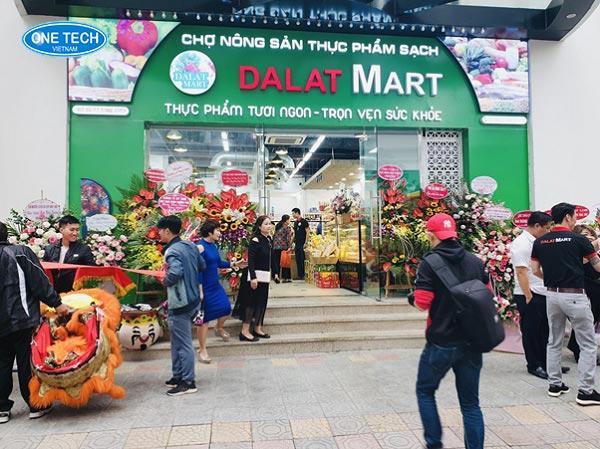 Dự án siêu thị Dalat Mart
